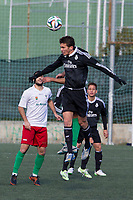 Real Madrid Castilla´s Jaime Sanchez during 2014-15 Spanish Second Division B match between Trival Valderas and Real Madrid Castilla at La Canaleja stadium in Alcorcon, Madrid, Spain. February 01, 2015. (ALTERPHOTOS/Luis Fernandez)
