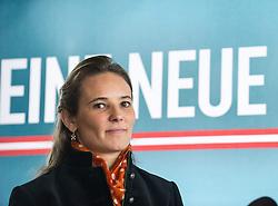 26.02.2014, Sky Bar, Wien, AUT, BZOe, Pressekonferenz zum Thema: Praesentation EU-Spitzenkandidatur fuer die EU-Wahlen. im Bild EU-Spitzenkandidatin BZOe Ulrike Haider // BZOe Top Candidate EU-Election Ulrike Haider-Quercia during BZOe press conference about European Union Election at Sky Bar in Vienna, Austria on 2014/02/26. EXPA Pictures © 2014, PhotoCredit: EXPA/ Michael Gruber