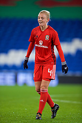 CARDIFF, WALES - Friday, November 24, 2017: Wales' captain Sophie Ingle during the pre-match warm-up before the FIFA Women's World Cup 2019 Qualifying Round Group 1 match between Wales and Kazakhstan at the Cardiff City Stadium. (Pic by David Rawcliffe/Propaganda)