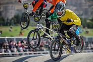 25-29 Men #308 (HAYDON Tonn) AUS at the 2018 UCI BMX World Championships in Baku, Azerbaijan.