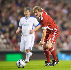 LIVERPOOL, ENGLAND - Thursday, May 14, 2009: Liverpool Legends' player/manager Kenny Dalglish during the Hillsborough Memorial Charity Game at Anfield. (Photo by David Rawcliffe/Propaganda)