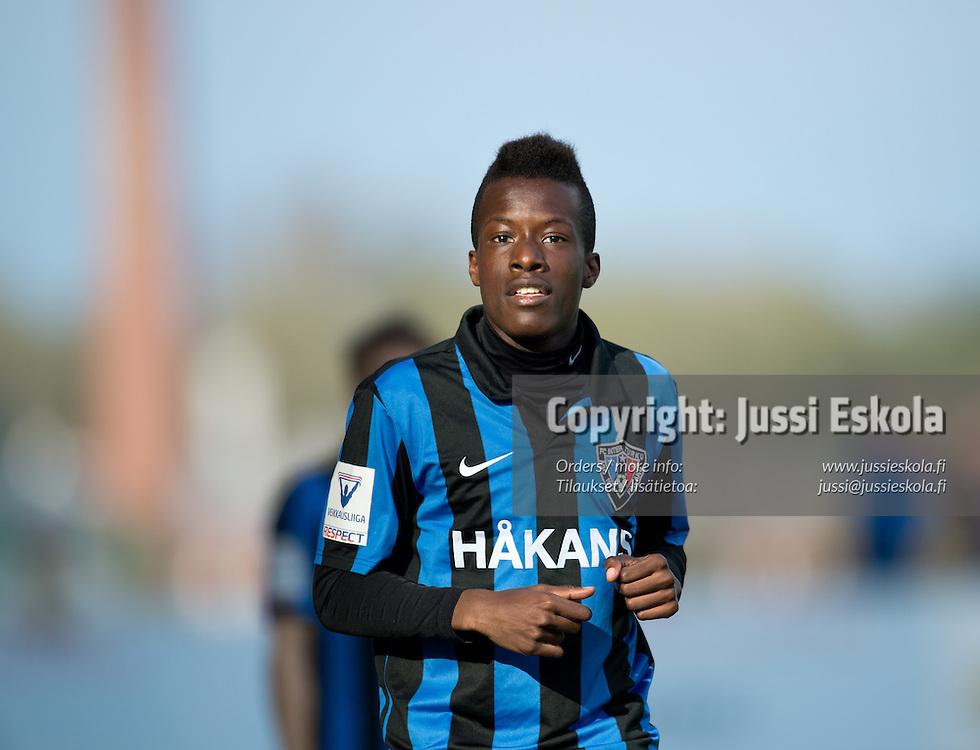 Solomon Duah. TPS - Inter. Veikkausliiga. Turku, 13.5.2013. Photo: Jussi Eskola