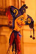 carnival, night parade, disguise, venice mask, Guadarrama, Sapin