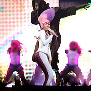 WASHINGTON, D.C. - April 3, 2011 - Nicki Minaj performs during the 'I Am Still Music' tour at the Verizon Center on April 3, 2011 in Washington, D.C.. (Photo by Kyle Gustafson/For The Washington Post)