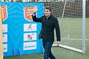 2018-030-21. DVSU, Utrecht. Kick-off sportplaatjesactie. Op de foto: Toine van Peperstraten
