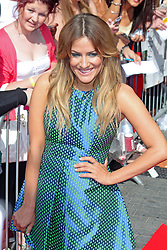 Caroline Flack, The X Factor London auditions, Wembley arena, London UK, 15 July 2013, (Photo by Brett Cove) © Licensed to London News Pictures