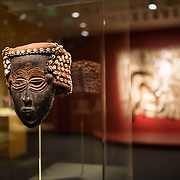 A face mask by a Lele artist of the Democratic Republic of the Congo in the early- to mid-20th century. The Smithsonian's National Museum of African Art is dedicated to historic and contemporary art in Africa. It's one of 19 Smithsonian Institution museums and is located in the grounds of the Smithsonian Castle off the National Mall in Washington DC.