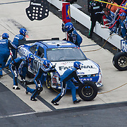Carl Edwards pit crew working the #60 car during a pit stop during the Nationwide Series race at Dover International Speedway in Dover Delaware...