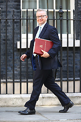 © Licensed to London News Pictures. 13/06/2017. London, UK. Michael Gove arrives at Downing Street for the second cabinet meeting in two days ahead of todays visit by DUP leader Arlene Foster. Photo credit: Andrew McCaren/LNP