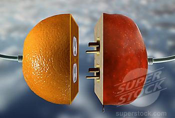 plug oranges to apples