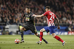 February 20, 2019 - Madrid, Spain - Cristiano Ronaldo (Juventus)  controls the ball   UCL Champions League match between Atletico de Madrid vs Juventus at the Wanda Metropolitano stadium in Madrid, Spain, February 20, 2019  (Credit Image: © Enrique De La Fuente/NurPhoto via ZUMA Press)