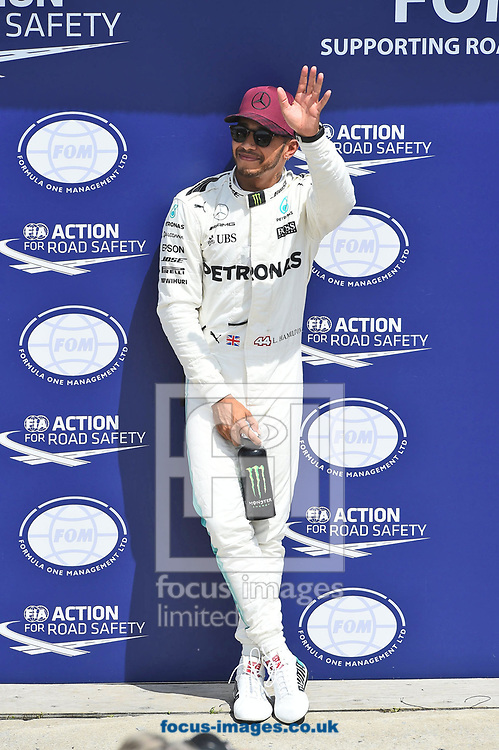 Lewis Hamilton of Mercedes AMG Petronas during the Canadian Formula One Grand Prix qualifying session at the Circuit Gilles Villeneuve, Montreal<br /> Picture by EXPA Pictures/Focus Images Ltd 07814482222<br /> 10/06/2017<br /> *** UK &amp; IRELAND ONLY ***<br /> <br /> EXPA-EIB-170610-0477.jpg