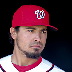Mar 8, 2013; Melbourne, FL, USA; Washington Nationals third baseman Anthony Rendon (6) before a spring training game against the St. Louis Cardinals at Space Coast Stadium. Mandatory Credit: Derick E. Hingle-USA TODAY Sports