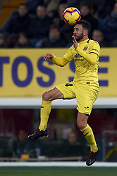 January 4, 2019 - Villarreal, Castellon, Spain - Layun of Villarreal during the week 17 of La Liga match between Villarreal CF and Real Madrid at Ceramica Stadium in Villarreal, Spain on January 3 2019. (Credit Image: © Jose Breton/NurPhoto via ZUMA Press)