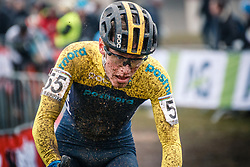 Henrik JANSSON of SWE during the Men Under 23 race, UCI Cyclo-cross World Championship at Bieles, Luxembourg, 29 January 2017. Photo by Pim Nijland / PelotonPhotos.com | All photos usage must carry mandatory copyright credit (Peloton Photos | Pim Nijland)