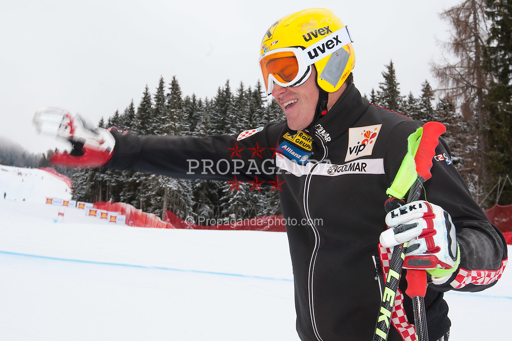 15.12.2011, Saslong, Groeden, ITA, FIS Weltcup Ski Alpin, Herren, Streckenbesichtigung vor dem 2. Training Abfahrt, im Bild Ivica Kostelic (CRO) // Ivica Kostelic of Croatia during course inspection before 2th practice session men's downhill at FIS Ski Alpine Worldcup at Saslong in Groeden, Italy on 2011/12/15. EXPA Pictures © 2011, PhotoCredit: EXPA/ Johann Groder
