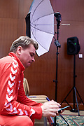 Warsaw, Poland - 2017 December 11: Marcin Matkowski from Poland rests while Photo Session of Davis Cup Team of Polish Tennis Association at Regent Hotel on December 11, 2017 in Warsaw, Poland.<br /> <br /> Mandatory credit:<br /> Photo by &copy; Adam Nurkiewicz / Mediasport<br /> <br /> Adam Nurkiewicz declares that he has no rights to the image of people at the photographs of his authorship.<br /> <br /> Picture also available in RAW (NEF) or TIFF format on special request.<br /> <br /> Any editorial, commercial or promotional use requires written permission from the author of image.