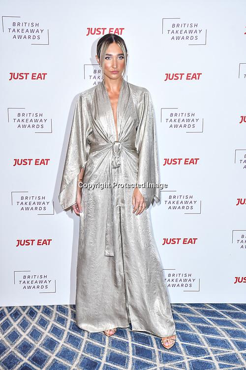 Megan McKenna attend the British Takeaway Awards 2020 on 27th January 2020, Savoy Hotel, Strand, London, UK.