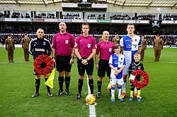 Mascot centre circle photo  - Mandatory by-line: Dougie Allward/JMP - 18/11/2017 - FOOTBALL - Memorial Stadium - Bristol, England - Bristol Rovers v AFC Wimbledon - Sky Bet League One