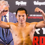 NLD/Amsterdam20160624 - Glory 31 / Weigh in, Saenchai PKSaenchai