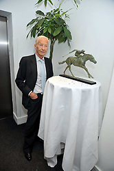 LESTER PIGGOTT at the launch of the 2009 Derby Festival in the presence of HRH Princess Haya of Jordan in aid of the charity Starlight held at the Kensington Roof Gardens, 99 Kensington High Street, London W8 on 12th May 2009.