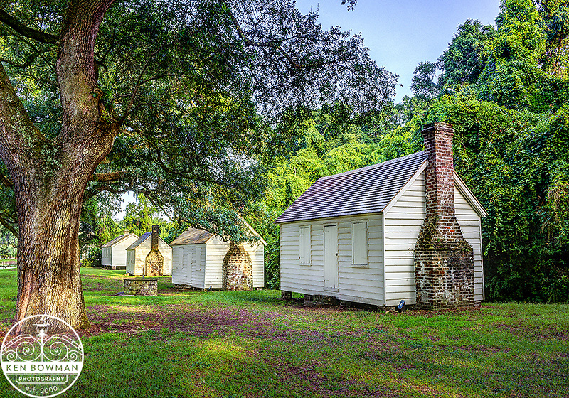 McLeod Plantation. Slave cabins.