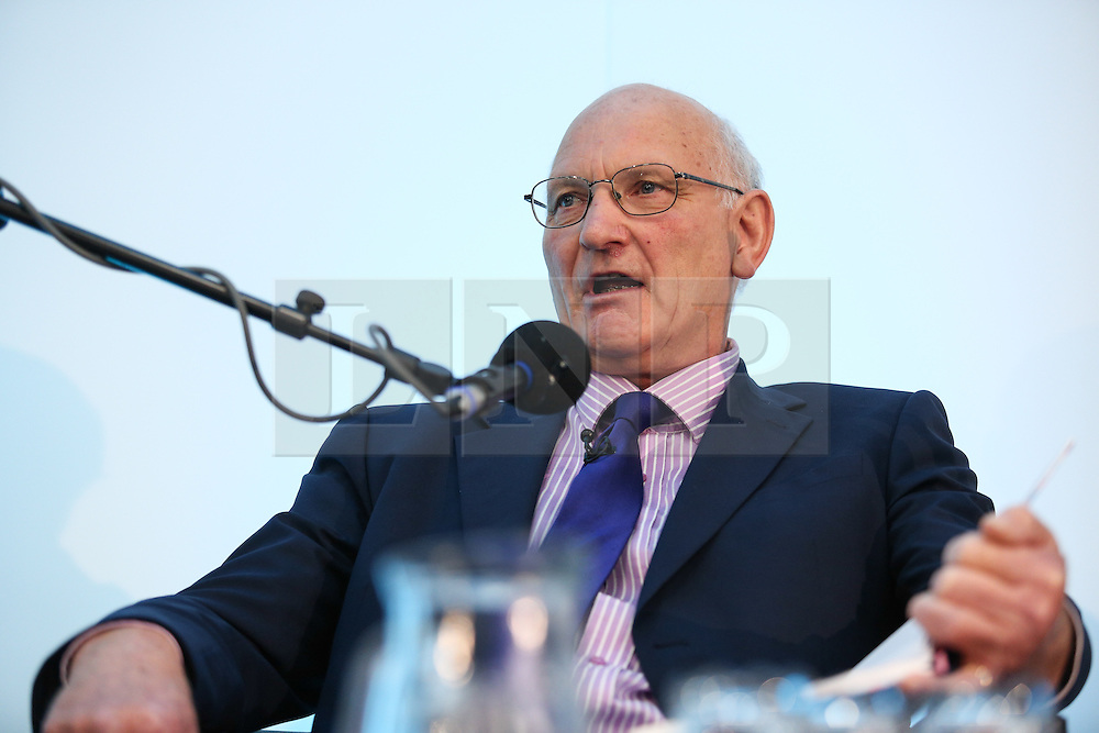 © Licensed to London News Pictures. 11/05/2016. Stoneleigh, UK. Stuart Agnew, UKIP MEP and free range egg producer, at a debate about the upcoming EU referendum during the 2016 Pig and Poultry Fair at Stoneleigh, Warwickshire, UK. A recent survey carried out by Farmers Weekly magazine revealed that 58 percent of farmers are in favour whereas only 31 percent said they wanted to remain. The debate was put on by the BBC Radio Four's Farming Today programme and will be broadcast later this month. Photo credit : Ian Hinchliffe/LNP