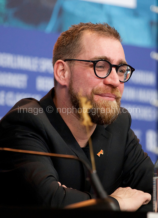 Producer Jan Krüger at the press conference for the film All My Loving at the 69th Berlinale International Film Festival, on Saturday 9th February 2019, Hotel Grand Hyatt, Berlin, Germany.