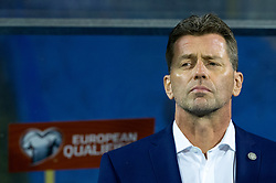 Michael Skibbe, head coach of Greece during the football match between National teams of Croatia and Greece in First leg of Playoff Round of European Qualifiers for the FIFA World Cup Russia 2018, on November 9, 2017 in Stadion Maksimir, Zagreb, Croatia. Photo by Ziga Zupan / Sportida