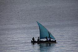 MADAGASCAR ANTSIRANANA 2APR13 - Local Malagasi sailing boat in the port of Antsiranana, Madagascar.<br /> <br /> jre/Photo by Jiri Rezac / Greenpeace