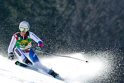 ZURBRIGGENElia of Switzerland during the 1st Run of Men's Giant Slalom - Pokal Vitranc 2014 of FIS Alpine Ski World Cup 2013/2014, on March 8, 2014 in Vitranc, Kranjska Gora, Slovenia. Photo by Matic Klansek Velej / Sportida