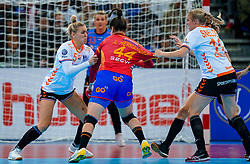 15-12-2019 JAP: Final Netherlands - Spain, Kumamoto<br /> The Netherlands beat Spain in the final and take historic gold in Park Dome at 24th IHF Women's Handball World Championship / Jessy Kramer #5 of Netherlands