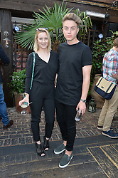 Former boyfriend and girlfriend: Roman Kemp and Holly Filtness