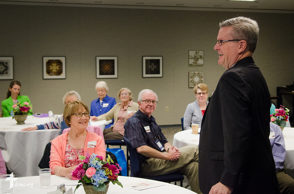 Photographs of the annual Volunteer Appreciation Luncheon on Wednesday, April 26, 2017, at the International Center of The Lutheran Church–Missouri Synod in St. Louis. LCMS Communications/Frank Kohn