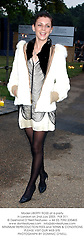Model LIBERTY ROSS at a party in London on 2nd July 2003. PLB 311