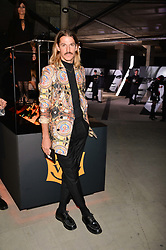 Glyn Fussell at the Veuve Clicquot Widow Series launch party curated by Carine Restoin-Roitfeld and CR Studio held at Islington Green, London England. 19 October 2017.