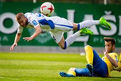 Veljko Batrovic of NK Domzale during football match between NK Celje and NK Domžale in 27th Round of Prva Liga Telekom Slovenije 2016/17, on April 1, 2017 in Arena Petrol, Celje, Slovenia. Photo by Ziga Zupan / Sportida