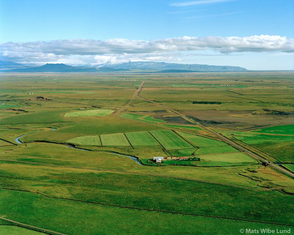 Áshóll séð til suðausturs, Ásahreppur / Asholl viewing southeast, Asahreppur.
