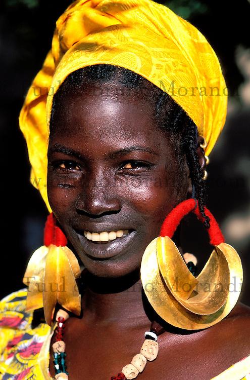 Mali - Djenné - Village de Senossa - Ethnie Peul - Bijoux traditionel