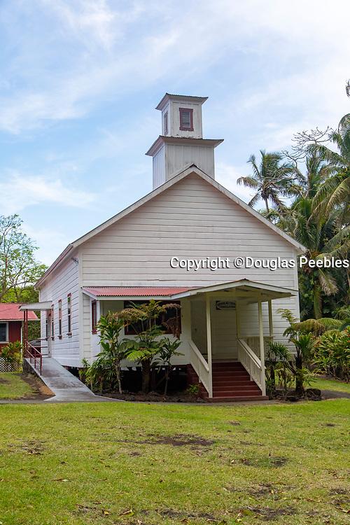 Opihikao Congregational Church, Kalapana, Island of Hawaii