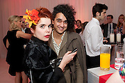 PALOMA FAITH; JOSH WELLER, English National BalletÕs annual pre-show party at the St. Martin's Lane hotel before a performance of the Nutcracker at the Coliseum. 15 December 2010. <br />  -DO NOT ARCHIVE-© Copyright Photograph by Dafydd Jones. 248 Clapham Rd. London SW9 0PZ. Tel 0207 820 0771. www.dafjones.com.<br /> PALOMA FAITH; JOSH WELLER, English National Ballet's annual pre-show party at the St. Martin's Lane hotel before a performance of the Nutcracker at the Coliseum. 15 December 2010. <br />  -DO NOT ARCHIVE-© Copyright Photograph by Dafydd Jones. 248 Clapham Rd. London SW9 0PZ. Tel 0207 820 0771. www.dafjones.com.