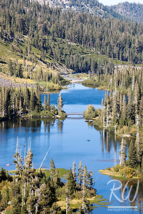 Twin Lakes Scenic Vista near Mammoth Lakes, California