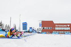 March 16, 2019 - –Stersund, Sweden - 190316 Hanna Öberg of Sweden competes the Women's 4x6 km Relay during the IBU World Championships Biathlon on March 16, 2019 in Östersund..Photo: Petter Arvidson / BILDBYRÃ…N / kod PA / 92268 (Credit Image: © Petter Arvidson/Bildbyran via ZUMA Press)