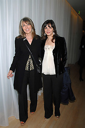 Left to right, KATHY PHILLIPS and SUNETRA ATKINSON at an Evening at Sanderson in Aid of CLIC Sargent held at The Sanderson Hotel, 50 Berners Street, London W1 on 15th May 2007.<br /><br />NON EXCLUSIVE - WORLD RIGHTS
