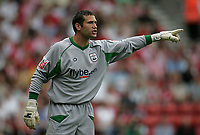 Photo: Lee Earle.<br /> Southampton v Panathinaikos. Pre Season Friendly. 29/07/2006. Southampton's recent signing, keeper Kelvin Davis.