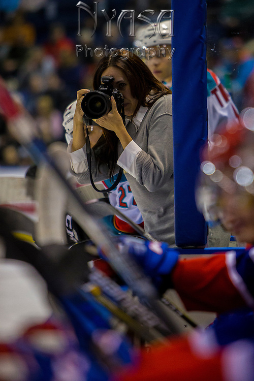 KELOWNA, CANADA - FEBRUARY 17:  Marissa at the Kelowna Rockets game on February 17, 2017 at Prospera Place in Kelowna, British Columbia, Canada.  (Photo By Cindy Rogers/Nyasa Photography,  *** Local Caption ***