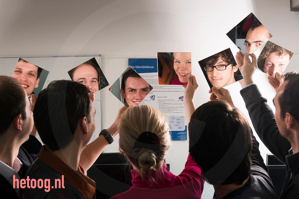 enschede nederland 22 okt2013 de mensen van het bedrijd security matters op de uTwente in Enschede