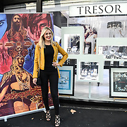 Larissa Eddie is a Singer/Songwriter arrives at Tresor Paris In2ruders - launch at Tresor Paris, 7 Greville Street, Hatton Garden, London, UK 13th September 2018.