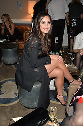 ROXIE NAFOUSI at the Tatler Little Black Book Party held at Home House Private Member's Club, Portman Square, London supported by CARAT on 6th November 2014.