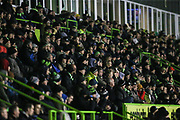 The East Stand at The New Lawn, home of Forest Green Rovers during the EFL Sky Bet League 2 match between Forest Green Rovers and Mansfield Town at the New Lawn, Forest Green, United Kingdom on 29 January 2019.
